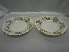 Wedgwood Lichfield  #W4156 - Pair of Rimmed Soup Bowls