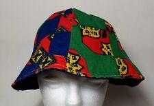 Bucket Hat Patchwork Gilligans Style Vtg 70's  Cap Skater 420 Hipster Homemade