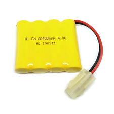 4.8V 400mAh NiCd Rechargeable AA Battery Pack With 5559 2P Plug For RC Toys