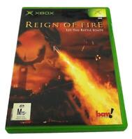 Reign of Fire XBOX Original PAL *Complete*