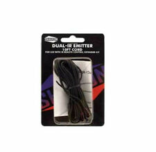"""Dual Head IR emitter buds for remote sensor extender repeater hub 10ft cord 1/8"""""""