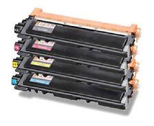4 x Toner für Brother HL-3040cn HL-3070cw wie TN-230BK TN-230C TN-230M TN-230Y