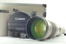 【NEAR MINT in CASE w/ STRAP】 Canon EF 600mm f/4 L USM ULTRASONIC Lens from JAPAN