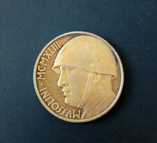 Regno d'Italia   Moneta  Mussolini 20 Lire