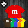 T Shirt M & M Halloween Candy Costume Gift Funny Tee