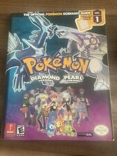 The Official Pokemon Scenario Guide Vol 1 Diamond And Pearl Version
