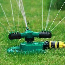 360° Rotating Lawn Sprinkler Garden Grass Plants Watering Sprinkler Hose Sprayer