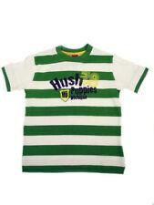 Magliette e maglie verde a fantasia righe per bambini dai 2 ai 16 anni