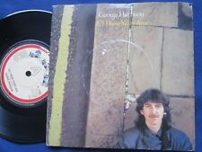 George Harrison ‎– All Those Years Ago Dark Horse Records K17807 UK 7inch Single