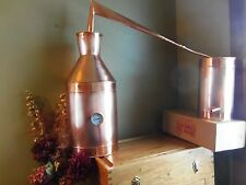 7 Gallon Copper Moonshine Still / copper condensing can By Ron Yurcak