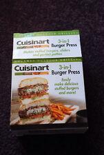 Cuisinart 3-in-1 Burger Press (new)