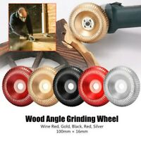 100mm Angle Grinder Grinding Wheel Carbide Wood Sanding Carving Shaping Disc