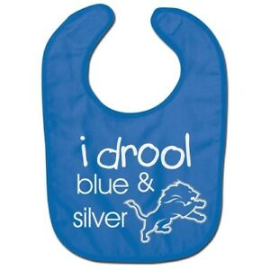 DETROIT LIONS BABY BIB OFFICIALLY LICENSED NFL FREE SHIPPING
