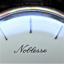 """Homme Montre,"""" Noblesse """",or,14 K,Quartz,"""" Fabriqué en Suisse """",Bon Fonction"""
