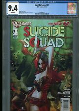 Suicide Squad #1   (New 52)  CGC 9.4  White Pages