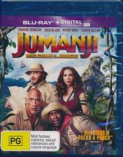 Jumanji Welcome to the Jungle Blu-ray NEW Region B