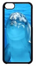 For Apple iPod 4 5 6 Cute Cute Funny Dolphin Pattern Slim Hard Back Case Cover