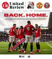Manchester United v Sheffield United RESTART Programme 24/6/2020! PRE-ORDER!!!