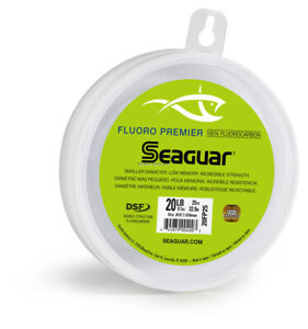 Seaguar 25FP25 Premier Fluorocarbon Leader Material 25lb 25yd