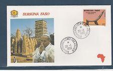 visite du Pape Jean-Paul II 1990  Burkina Faso