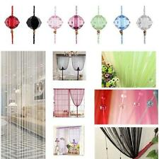 Crystal Perlenvorhang Raumteiler Türvorhang Vorhang Perlen Drops 1*2 Meter