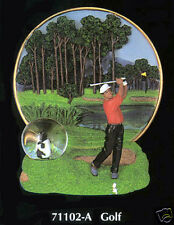 NEW GOLF COLLECTIBLE DECORATIVE PLATE GOLFER