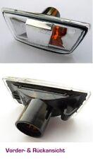 Opel Zafira Astra H Corsa D Seitenblinker Blinker Klarglas Rahmen Black Links