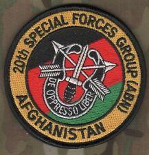 AFG-PAK ISAF Eliet Professionals Urban Combat Operator VeIcrọ SSI: 20th SFG