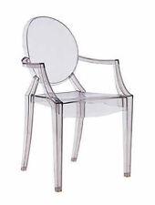 Kartell Louis Fantasma Cena poltrona Designer Sedile Philippe Starck vari colori lucido Nero