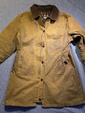Vintage Barbour Newmarket Wax Cotton Jacket Size USA 10
