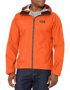Helly-Hansen Mens Vanir Slidr Outdoor Waterproof Jacket  Large, Black