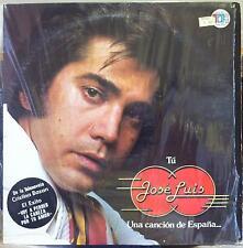 JOSE LUIS RODRIGUEZ tu una cancion de espana LP VG+ THS-2021 Vinyl 1977 Record