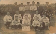 New Ferry (near Port Sunlight) posted Knowles & Jones Football Team 1912.