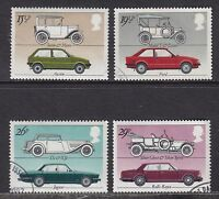 GB 1982 Commemorative Stamps~Motor Cars~Very Fine Used Set~(ex fdc)UK Seller