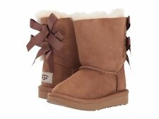 NEW TODDLER INFANTS UGG BOOT BAILEY BOW II CHESTNUT 1017394T CHE WATER RESISTANT
