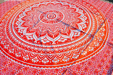Indian Omber Wall Hanging Twin Size Tapestries Bedspread Throw Ethnic Decor Art