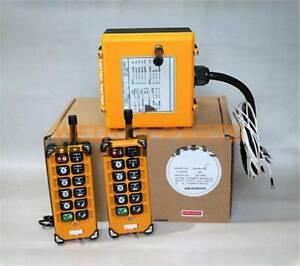 DC24V F23-A++ Double Emitter Hoist Crane Radio Wireless Remote Control