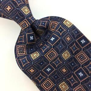 "XL 65""ALEXANDER JULIAN COLOURS FLORAL Woven GEOEMTRIC Necktie Ties I9-248B New"