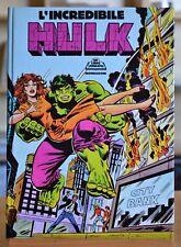 "Libro Animato ""L'Incredibile Hulk"" Ed. Mondadori 1981"