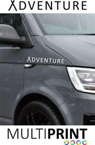 Camper Van Sticker Vinyl Motor Home Van Vinyl Graphic Decal Adventure VW15