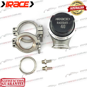 40MM V BAND WASTEGATE IRACE RACEGATE40 RG40 1 Year Warranty