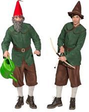 Zwergkostüm Zwergenkostüm Gnom Wichtel Zwerg Zwergen Bauer Jäger Robin Hood