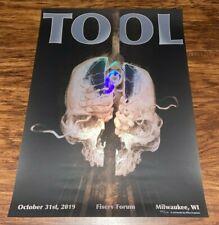 Tool Poster Milwaukee Tour Fear Inoculum October 31 2019 /650 Eliza Ivanova