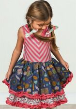 Matilda Jane Girls Work of Heart Dress Sz 6 NWOT