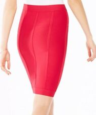New Bcbg Maxazria Nita Red Bandage Stretch Skirt Size M Sold Out