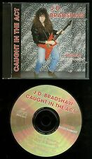 J.D. Bradshaw Caught In The Act CD private press shred guitar