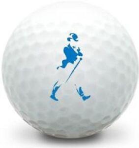 3 Dozen Taylor Made Tour Preferred Mint Johnnie Walker Logo Used Golf Balls