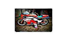 1972 Honda Cb750 F1 Bike Motorcycle A4 Photo Poster