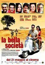 DvD LA BELLA SOCIETA' (2009) ** Maria Grazia Cucinotta ** ......NUOVO