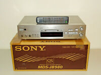 Sony MDS-JB980 High-End MiniDisc Recorder in OVP w.NEU, inkl. FB, 2J. Garantie